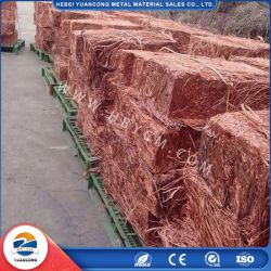 Оптовая торговля баре яркий красный лом медный провод медного провода лом 99,5% от китайского завода