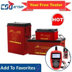 Csbattery 6V380AH rápido carbono cable de carga/descarga de batería solar/Inversor/Power-Tool/Electric-Scooter/Bicicleta/Vehículo/Pack/CSR