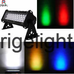 RGBW أو White 40X3w LED ضوء بيان المرحلة LED جدار مصباح الغاسلة