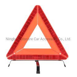 Diseño plegable profesional remolque coche reflectante de seguridad de emergencia de advertencia de triángulo de trípode