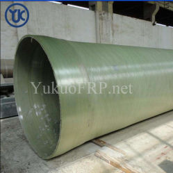 高品質のガラス繊維FRP/GRPの管のGreの管