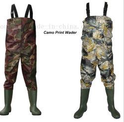 À prova de Nylon OEM Wader Torácica Pesca Macacão Pants