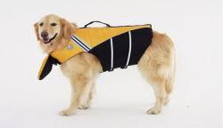 Het Jasje van de Veiligheid van het Reddingsvest van de hond met Weerspiegelende Druk Perro