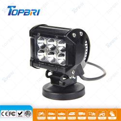 Off Road Trabajo Automobile Moto 4RM 18W phare de travail à LED