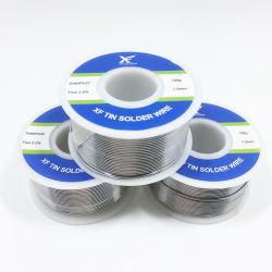 Zinn-Leitungskabel-Lötmittel-Draht 0.5mm 0.6mm 0.8mm 1.0mm 1.2mm 1.6mm 3.0mm Sn63pb37 60/40 50/50 40/60 30/70 20/80 10/90 Fluss-Kern elektrisch