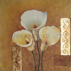 Fiori decorativi (ADA9134) su pittura a olio