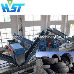 Ancien pneu écrasement/avec fonctions avancées de la machine de Déchiquetage Déchiquetage Tech