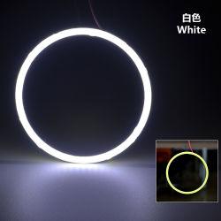 70mm 90mm LED de colores único anillo de mazorca de ángulo de Ojos Ojos De Los Anillos de los faros de coche