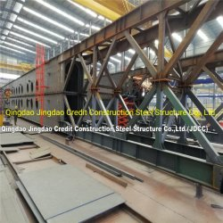 모듈 금속 제작 조립식 Prefabricated 긴 경간 강철 프레임 산업 호텔 사무실 창고 전람 문 및 Windows