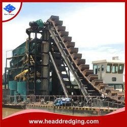 A nova corrente de Caçamba Gold Draga, Areia Ming Draga para venda o Cazaquistão