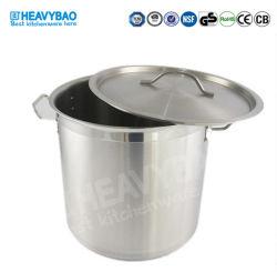 Heavybao는 스테인리스 요리 기구 알루미늄 요리 재고 남비 세트를 주문을 받아서 만들었다