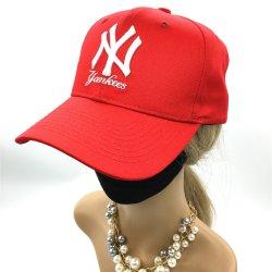 OEM Fashion Européens et Américains, hommes et femmes's Sports Sun Cap Rouge Sport Baseball Cap 3D Ny broderie chapeaux de sport