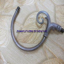 Curva de zinc/tubo de parte de muebles/Decoración Mobiliario/Zinc El zinc o la pieza de fundición de metal Muebles //