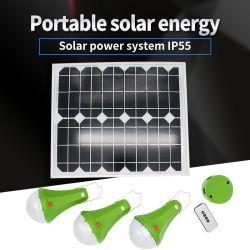 20Wによって25W 15Wは太陽エネルギーシステム携帯用太陽ライトが家へ帰る
