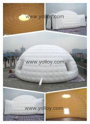 Piscine gonflable géant tente dôme blanc