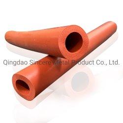 Ouvrez la cellule d'une éponge en Silicone tube ronde creuse le trou carré du tube de mousse de silicone
