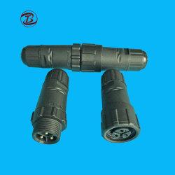 2 à 8 broche AWG12-24 imperméables en plastique des connecteurs de fils électriques