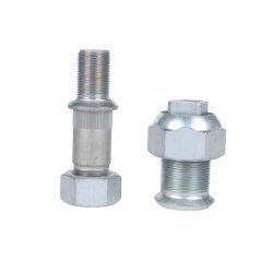 Grado de acero al carbono 10.9 Galvanizado automático personalizado el cubo de rueda el tornillo con tuerca