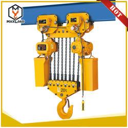 palan électrique à chaîne de la machine pour le levage de personnes de 15 2,5 tonnes l'outil de vente