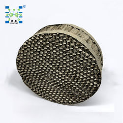 금속 천공 플레이트 골판 구조 포장