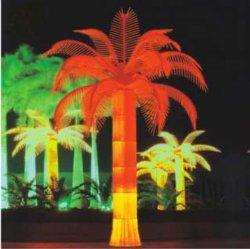 Licht van de Boom van de Esdoorn van de Lamp van de Kokospalm van de Simulatie van de goede Kwaliteit het Openlucht Gele voor de Decoratie van de Straat of van de Werf