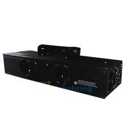 40MW dois dispara feixe de luz laser verde/ discoteca luz laser