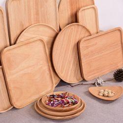 As placas de bambu talheres de bambu nenhuma das partes biodegradáveis de embalagens plásticas de louça de mesa