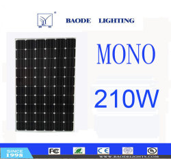 لوحة شمسية شمسية أحادية اللون/أحادية البلورات أحادية البلورات أحادية اللون لنظام اللوحات الكهروضوئية