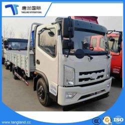 2.5-5 톤 편평한 침대 또는 화물 자동차 또는 화물 상자 평상형 트레일러 트럭