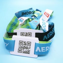 La gestion des événements NTAG passive213 Tissu NFC bracelet RFID