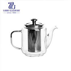 ステンレス鋼のInfuser Glasの水差し(GB550010400)が付いている耐熱性飲料ディスペンサーの茶鍋