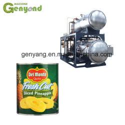 Conserves de viande Poissons Fruits Légumes Machine de stérilisation