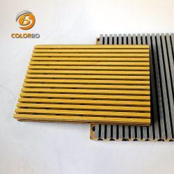 Reducción del ruido de la madera Madera ignífuga panel acústico