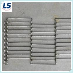 금속은 컨베이어 벨트 /Wire 메시 벨트 콘베이어 철사를 편평하 구부린다