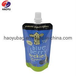Оптовая торговля Китая настроить встать чехол упаковки продуктов питания для Лука сок