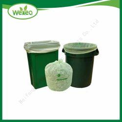 2019 nouveau sac à ordures en plastique biodégradable à l'emballage pour l'industrie