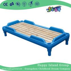 Plus tard un mobilier moderne en plastique pour les enfants avec planche en bois lit (HJ-8206)