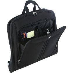 Kundenspezifisches Mann-Träger-bewegliches faltbares Handtaschen-Bildschirmanzeige-Polyester-Großhandelsgeschäfts-hängender Kleidung-Smoking-Deckel-Kleid-Beutel