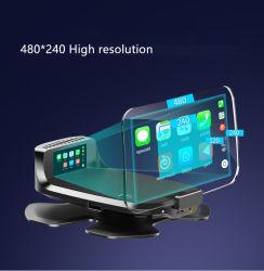 Head-up Display (HUD) Toyota Carplay Google avec la vitesse/Compteur kilométrique