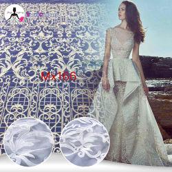 Merletto di alta qualità ricamato fragile reale del tessuto dell'esportazione per gli abiti