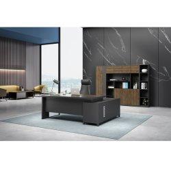 L modernes Manager-einfaches Büro-hölzerner Möbel Excutive Computer-Chef-Büro-Schreibtisch der Form-MFC/MDF