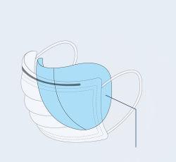 مستهلكة [فس مسك] كتلة [3بلي] يتنفّس [دوست مسك] كتلة فم تغطية كمامة مرشحة حمى