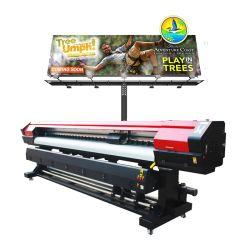 La più venduta testina di stampa XP600 ad alta velocità 6 colori in vinile Wrap Macchina per stampa a trasferimento digitale da 1,8 m.