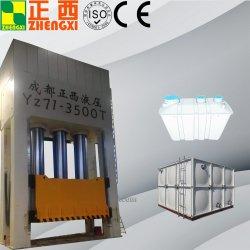 SMC BMC zusammengesetztes Material-heiße bildende hydraulische Presse für Blatt-Formteil-Mittel