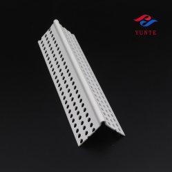 Plastic wandhoekkap voor het verstieren van de pvc hoekpad