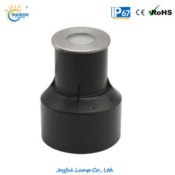 IP67 Inground Lampe à LED RVB enterré lumière Éclairage de marchepied de l'escalier VOYANT LED spotlight encastrés de sol extérieur métro léger avec couvercle avant en acier inoxydable