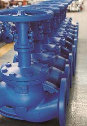 Ss van Wcb Pn 16/25/40 van het Gietijzer API ANSI DIN de Klep van de Poort van de Bol van de Verbinding van de Blaasbalg van de Flens voor de Stoom van het Gas van de Olie