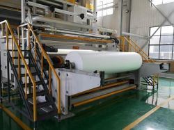 De 1600 mm de Meltblown Nonwoven Fabric fundido fundir la maquina para fabricar la máquina para el tejido del filtro de máscara facial