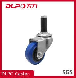 Dlpo Wear-Resistant Soporte galvanizado Elásticos la ampliación de frenar las ruedas orientables para taller Dust-Free