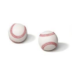 Maßgeschneiderte Handgemachte 9 Zoll Leder Abdeckung Holz Kern Innen Training Baseball